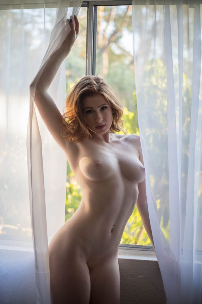 Naked Abigale Mandler shows off her body in various positions gallery, pic 4