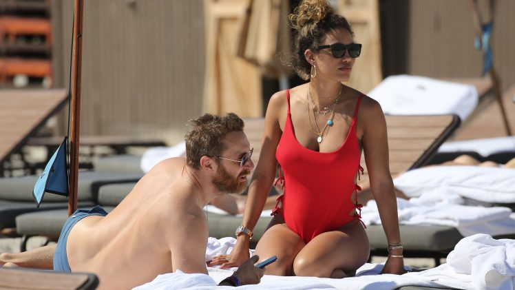Jessica Ledon Looking Extremely Sexy in a Slutty Red Swimsuit