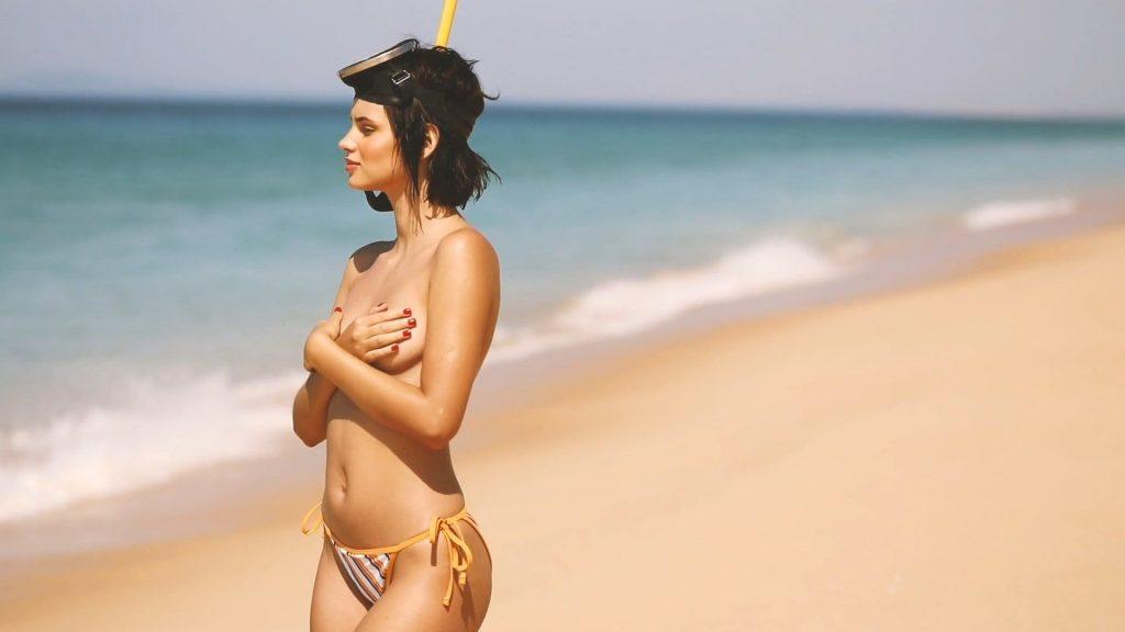 Natalia Udovenko Posing Stark Naked on a Beach  gallery, pic 70