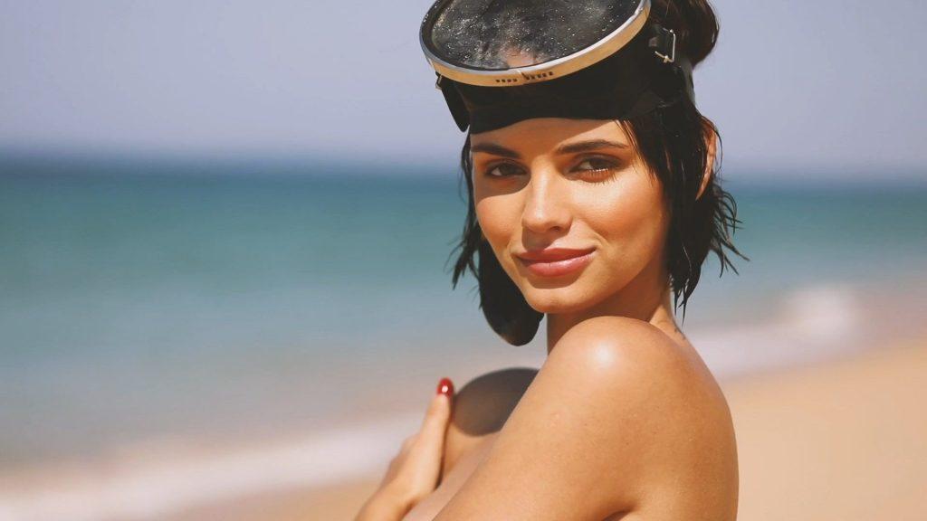 Natalia Udovenko Posing Stark Naked on a Beach  gallery, pic 74