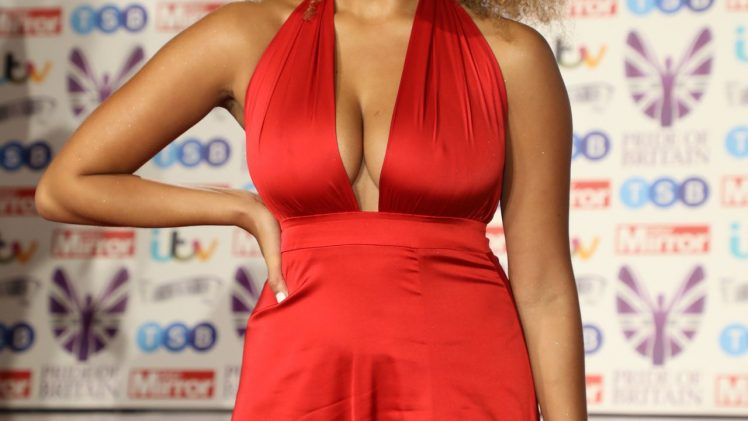 Love Island's Amber Gill Looks Really Sexy on the Red Carpet