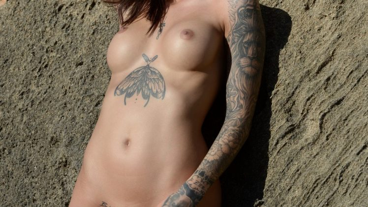 Inked Beauty Lena Klahr Shows Her Amazing Nude Body in Playboy