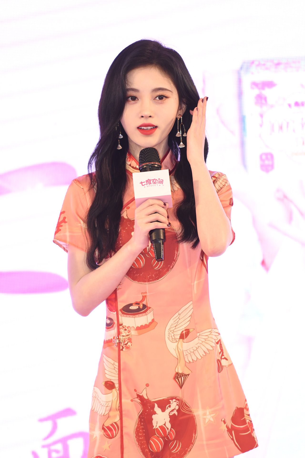 Ghostly Pale Asian Beauty Ju Jingyi Shows Her Tight Body - The Fappening!