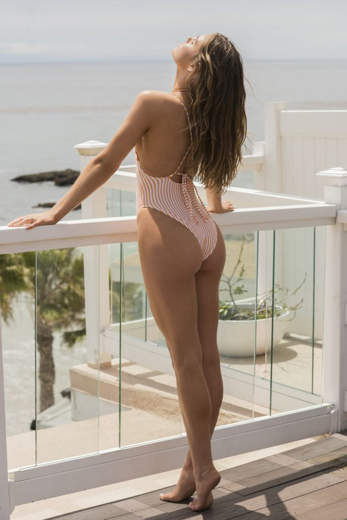 Promising Young Model Cambrie Schroder Posing in Revealing Swimwear gallery, pic 16