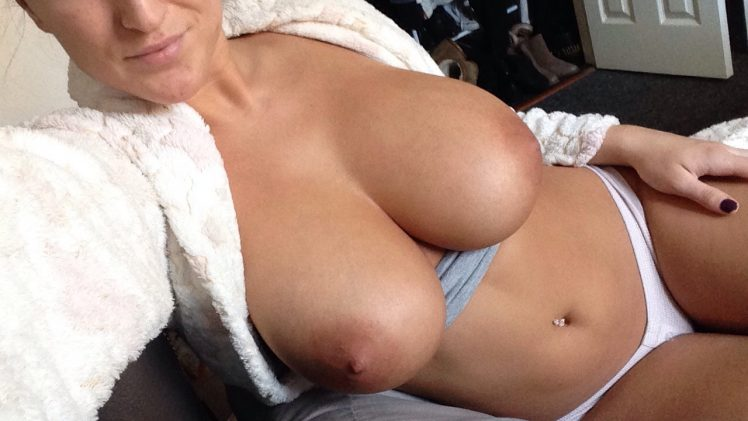 Nude Stacey Poole Showing Her Ginormous Hooters and Shapely Ass Too