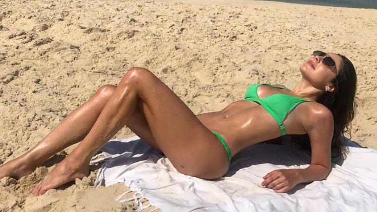 Bikini-Wearing Beauty Marcela Barrozo Stuns in Her Latest Gallery